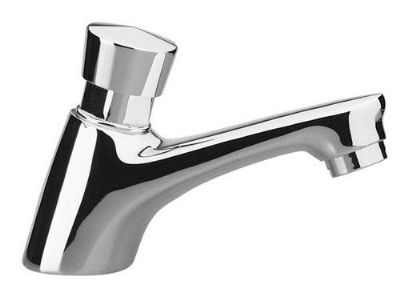 Chrome Non Concussive Push Down Basin Tap - 58000016